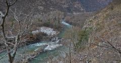Der Fluss Khrami